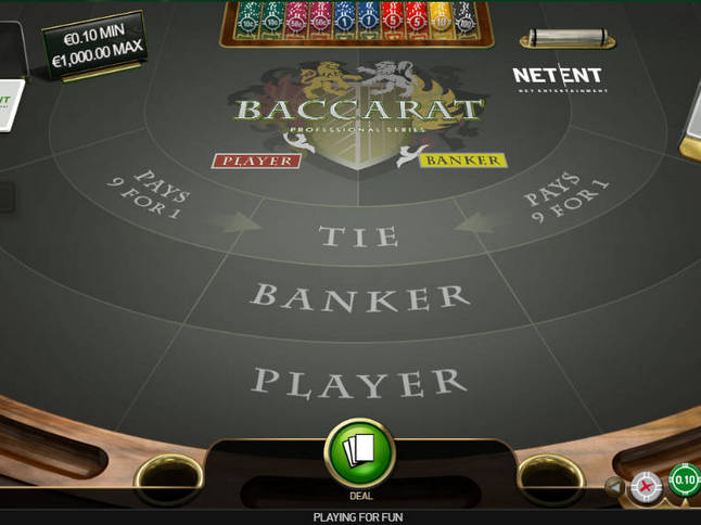 Play 'Baccarat' for Free and Practice Your Skills!